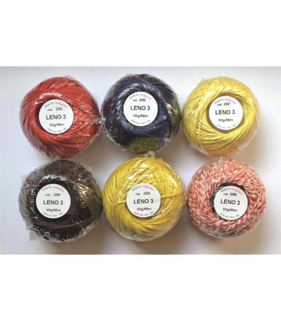 Zestaw Leno 3 - 6 kolorów