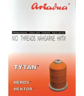 Katalog kolorów nici Tytan, Heros, Hektor