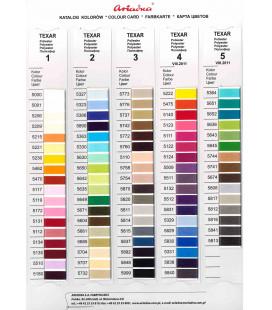Wkładka kolorystyczna nici Texar