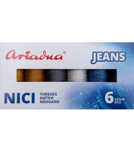 """Zestaw """"Jeans"""" - 6 kolorów"""