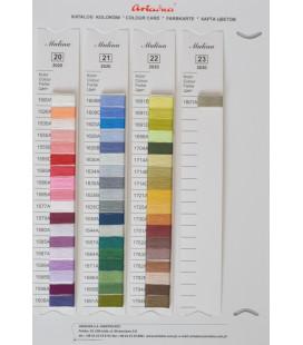Katalog 55 nowych kolorów muliny