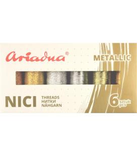 Zestaw Metallic Royal, Silva 30N/150m, Silva 40N/250m 6 kol.
